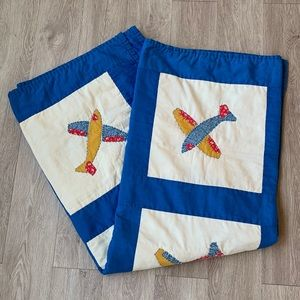 VINTAGE 1970's Quilt - handmade
